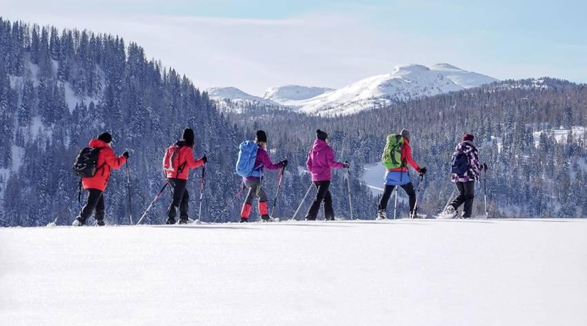 Bergparadies Warscheneck - Die Wurzeralm im Winter - Naturschauspiel